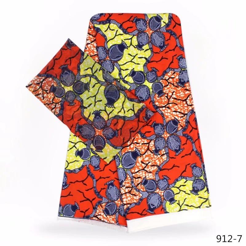 New 100 Modal Wax Prints Fabric 2019 Ankara Binta Wax Silk Satin FabricHigh Quality 4 2 yards African Fabric for Party Dress in Fabric from Home Garden