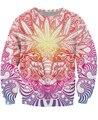 Weed Goat Crewneck Sweatshirt psychedelic Weed Leaf baphomet style Fashion Clothing Women/Men 3d Print Sweats Hoodie Jumper Tops