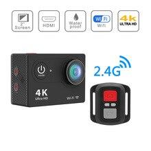 Karue действий камеры в исходном H9/H9R удаленного ультра FHD 4 К Wi-Fi 1080 P 60fps 2.0 ЖК-170D Спорт Go Водонепроницаемый Pro камеры