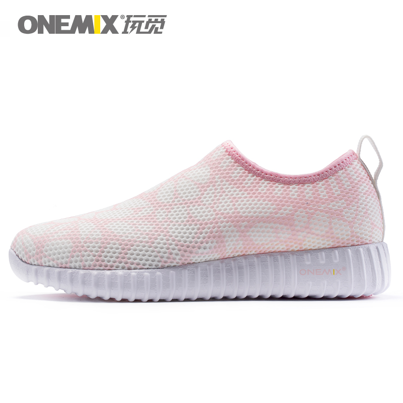 ONEMIX Women Ligthweight Runing Shoes Sock-Like Casual Outdoor Sneakers Zapatos De Mujer