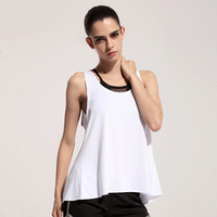 2016 Spring Summer New Tank Tops Women Round Neck Loose T Shirt Ladies Blouse Sleeveless Vest