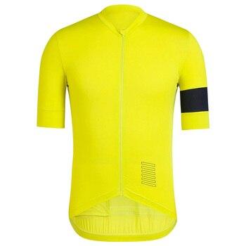 2019 flyweight 半袖サイクリングジャージ軽量生地ホット夏のトレーニングレースジャージプロ自転車ウエア