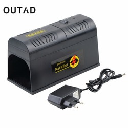 Electrocute Electronic Rat Trap Mice Mouse Rodent Killer Electric Shock US Plug EU Adapter High Voltage Mouse Trapper Repeller