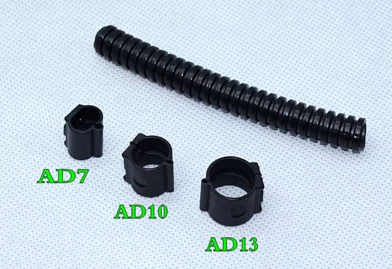 10pcs lot ad13 corrugated pipe card buckle open tube harness casing rh aliexpress com Car Wiring Harness Clamp automotive wire harness clamps