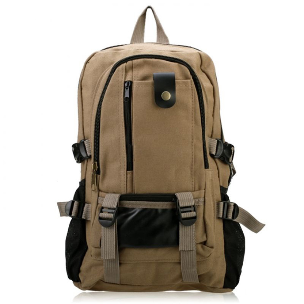 AFBC New Man's Canvas Backpack Travel Schoolbag Male Backpack Men Large Capacity Rucksack Shoulder School Bag Mochila Escolar delune new european children school bag for girls boys backpack cartoon mochila infantil large capacity orthopedic schoolbag