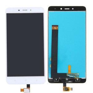 Для Xiaomi Redmi Note 4 ЖК-дисплей кодирующий преобразователь сенсорного экрана в сборе запасные части с рамкой для Redmi Note4 LCD