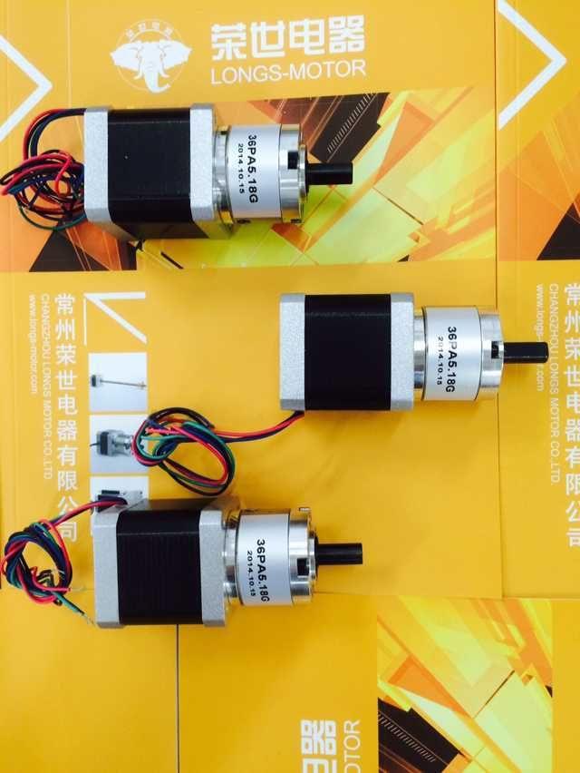 3PCS Nema17 Planetary Gearbox stepper motor 5.18:1 3D Printer RepRap Kossel Prusa New