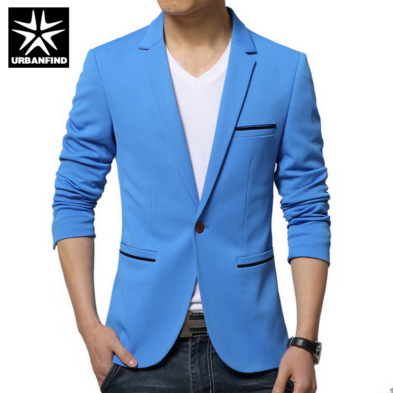 Tailored Collar Hombres Blazers Tamaño M 5XL Color Sólido