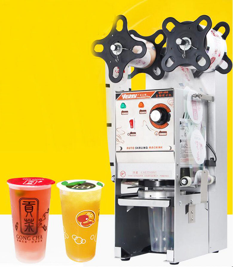 US $415 0 |220V Semi automatic Bubble Tea Cup Sealing machine Cup Sealer WY  168 -in Tool Parts from Tools on Aliexpress com | Alibaba Group