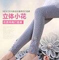 Calcinha menina leggings, 2016 durante a primavera eo outono altura da cama da menina do algodão puro de cultivar a moralidade calças