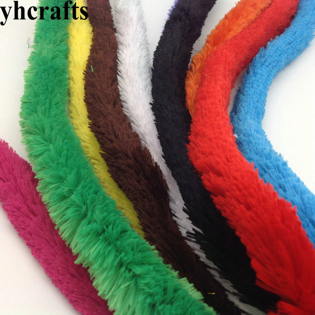 20PCS/LOT.10 color big pipe cleaners Craft material Creativity developing Craft sticks Kindergarten & 20PCS/LOT.10 color big pipe cleaners Craft material Creativity ...