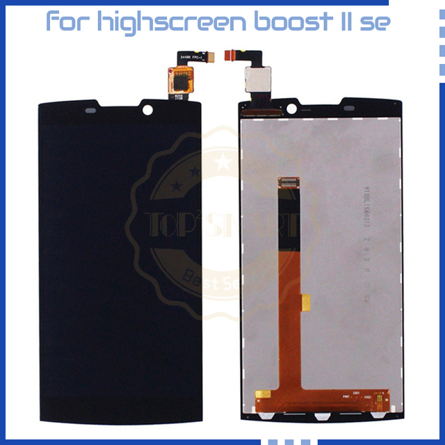 For Highscreen boost 2 se REV.C 9267 Version Display FPC 9267 LCD Display Touch Screen Black Mobile Phone LCDs with free tools