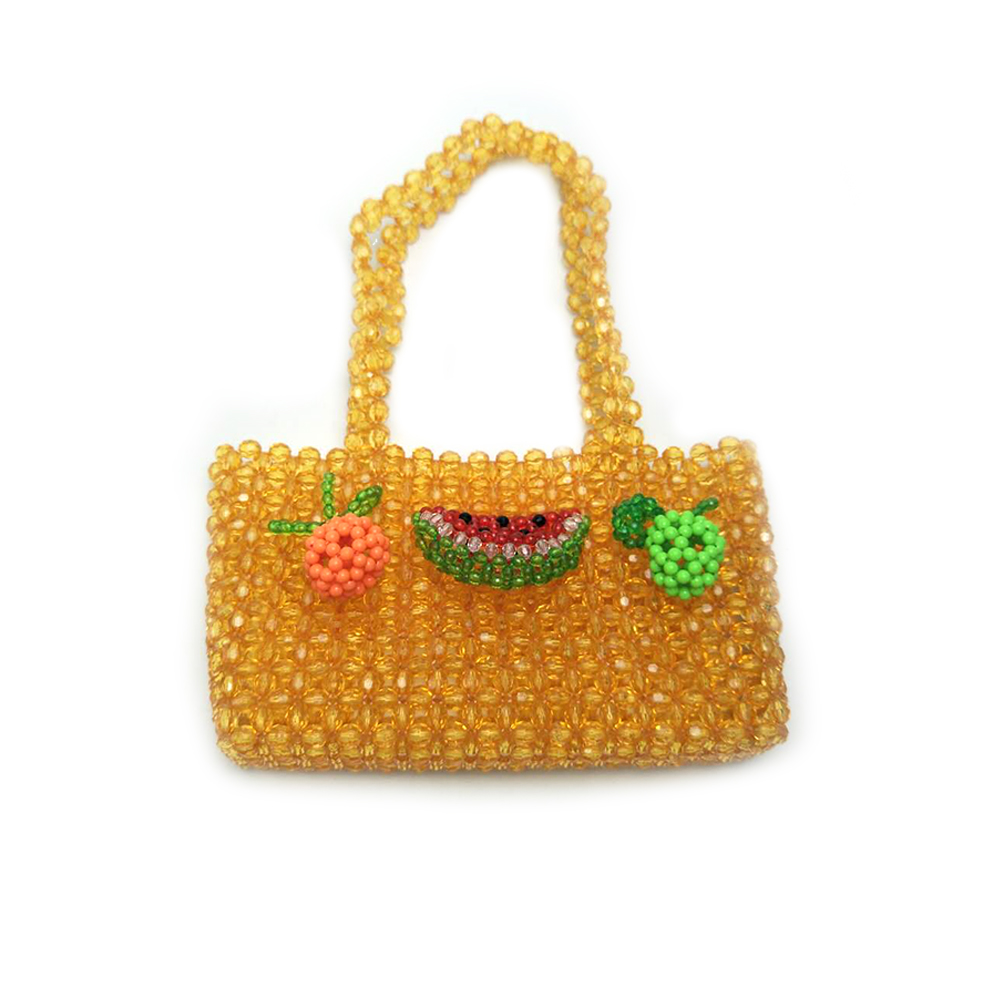 Acrylic Beaded Bag Female Summer Leisure 2019 Party Fruit Beaded Bag WholesaleAcrylic Beaded Bag Female Summer Leisure 2019 Party Fruit Beaded Bag Wholesale