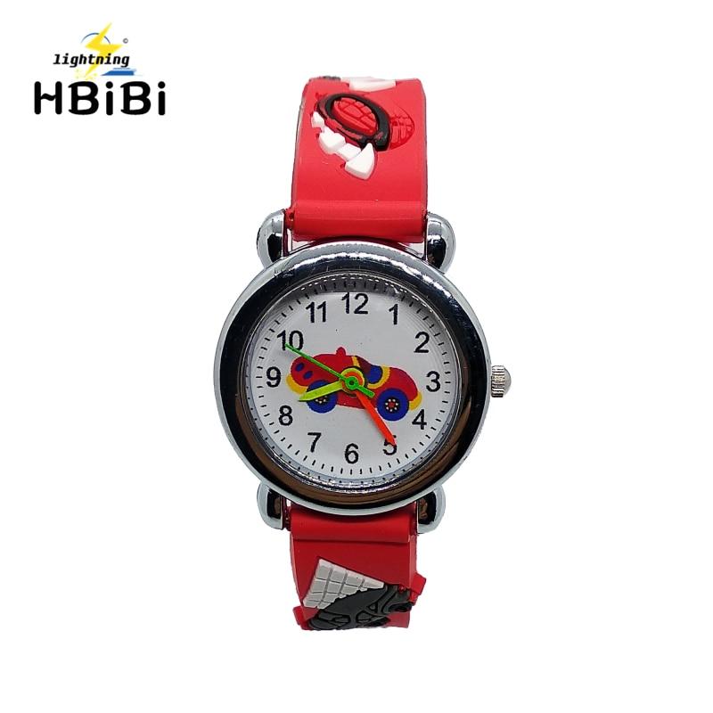 Children's Watches Trustful 3d Cartoon Lovely Football Kids Girls Boys Children Students Quartz Wrist Watch Very Popular Wristwatches Clock Style Easy To Repair