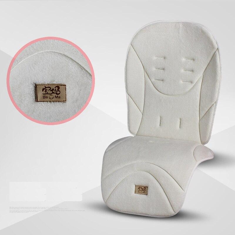 Детская коляска, теплая подушка на сиденье, обеденный стул, детская коляска, аксессуары для коляски 2