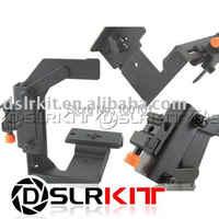 Multi-Angle camera flash arm holder Bracket Hand Grip
