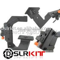 Multi Angle camera flash arm holder Bracket Hand Grip