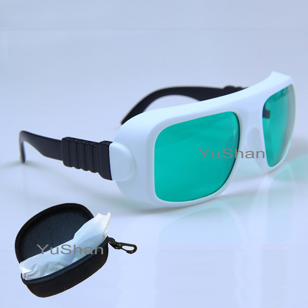635nm, 808nm Laser Protective Goggles Used in Red and Diode Laser Protection Goggles Laser Safety Glasses Ce Certified