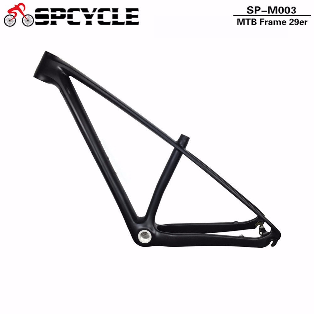 29er T1000 Full Carbon MTB Bicycle Frames,29er 650B Carbon Mountain Bike Frames BSA Model Frames 142*12mm&135*9mm Compatible 2018 anima 27 5 carbon mountain bike with slx aluminium wheels 33 speed hydraulic disc brake 650b mtb bicycle