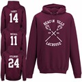 Fashion Beacon Hills Lacrosse Hoodie Teen Adults Wolf Stilinski Lahey McCall Mens Hoody Top Hip Hop Brand Clothing S-3XL