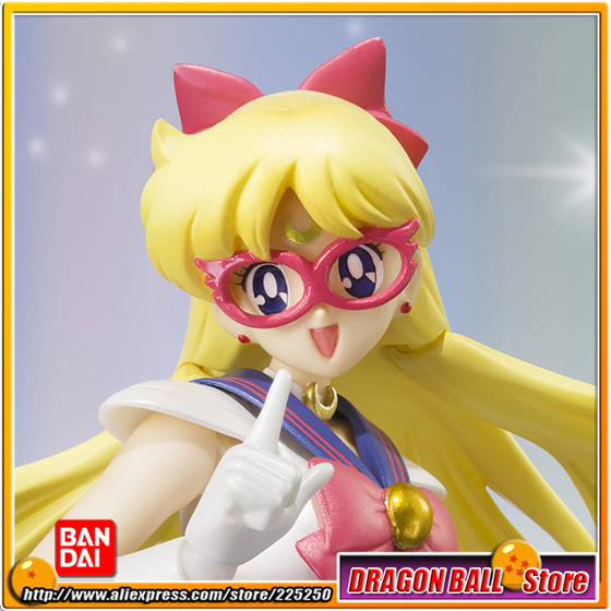 Japan Anime Pretty Guardian Sailor Moon Original BANDAI S.H.Figuarts / SHF [Tamashii Web Exclusive] Action Figure - Sailor V sailor moon figures tsukino usagi 20th anniversary pvc action anime cartoon zero pretty guardian collectible toy 21cm