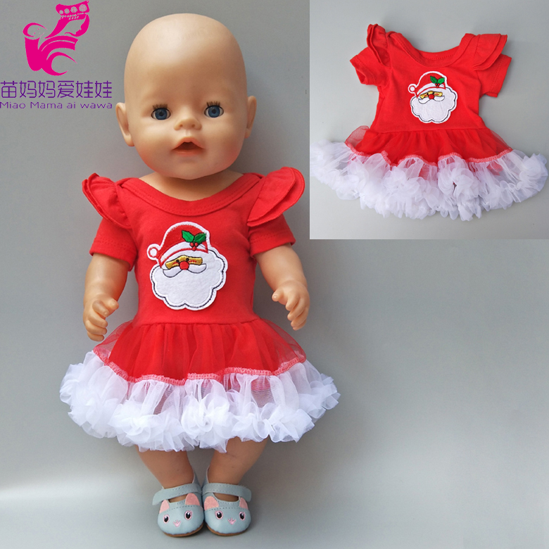 43cm Zapf doll Baby Born doll Merry Christmas clothes dress hat fit for 18 inch dolls coat sets Baby girl Christmas gift summer set for 18 american girl doll bikini cap summer swimming suit with hat also fit for 43cm baby born zapf doll clothes