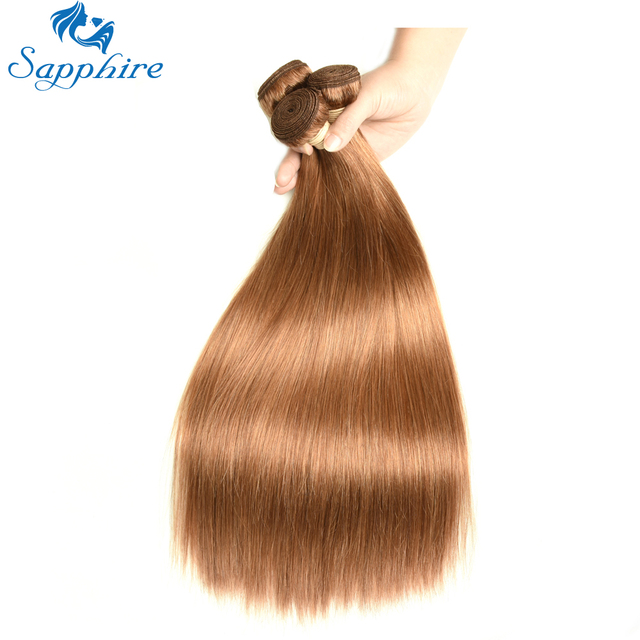 Sapphire Virgin Hair Products Brazilian Straight Human Weave Hair