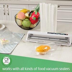Image 4 - LAIMENG 3 Vacuum Packaging Rolls Vacuum Sealer Bags Film for Vacuum Packer Sealing Machine Textured Vacuum Food Storage Bag R119