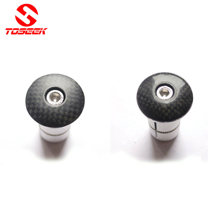 "New VP Bicycle Bike Alloy Headset Stem Top Cap w// Expander Plug 1/"" Silver"