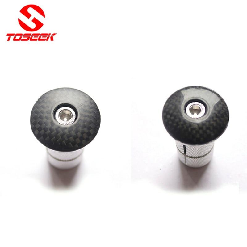 Fahrrad Kohlefaser Headset Stem Top Cap Schlüssel Expander 28,6mm 1 1/8 gabelschaft Stecker Für Rennrad MTB Carbongabel Fahrrad Zubehör