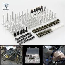 CNC אוניברסלי אופנוע אביזרי Fairing/שמשה קדמית ברגי בורג סט עבור ימאהה xmax 300 XMAX300 V MAX 1200 /VMAX 1200 YZF R3