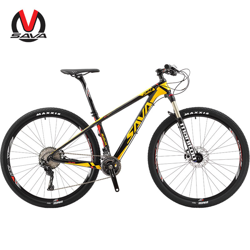 SAVA VTT 29 vtt 29 pouces Carbone VTT vtt 29 vélo de montagne avec SHIMANO DEORE XT M8000 vtt bicicleta 29
