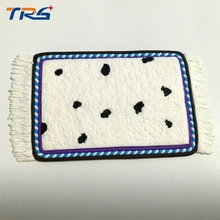 Teraysun 8.5*5cm size model furniture /scale sand pottery carpet Model building materials