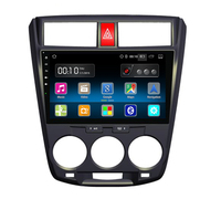 Android 5 1 Quad Core 2G RAM 9 Inch Car DVD Player For Honda City Bluetooth