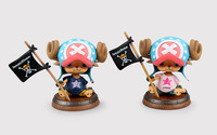 Anime One Piece 10CM Tony Tony Chopper Pirates Of The Flag Action Figure Collection Toys Christmas