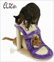 Cat Furniture Cat Scratcher Toy Wood Climbing Tree Cat Jumping Toy cat tunnel with Ladder Climbing Frame Scratching Post