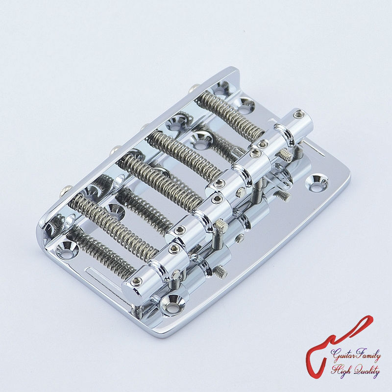 Genuine Original GOTOH 203B-4  4 Strings Electric Bass Bridge  ( Chrome )   Brass Saddle  MADE IN JAPAN original thomastik vision solo vis100 4 4 violin strings full set med alum d made in austria free shipping