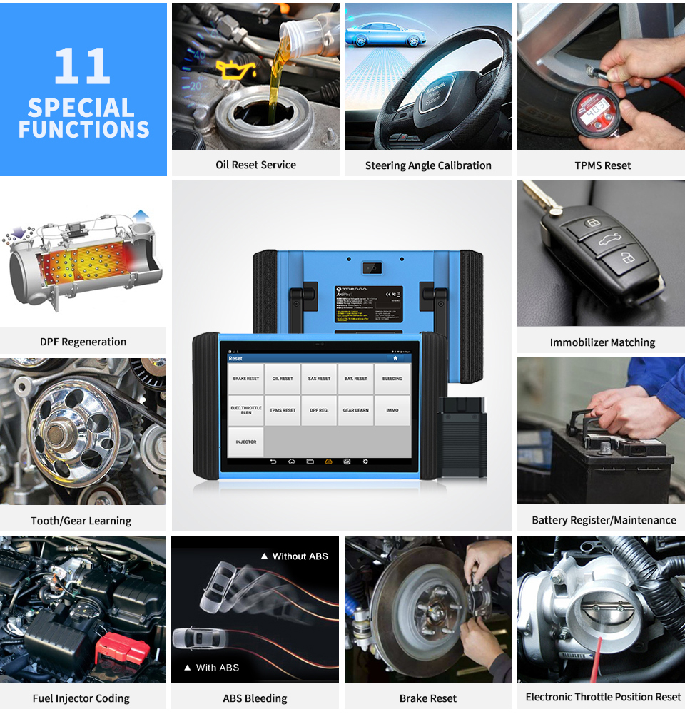 US $3799 0 |Topdon Artipad I Automotive Diagnostic Scanner Diagnostic Tool  With ECU Coding and Reprogramming for Vehicles-in Engine Analyzer from
