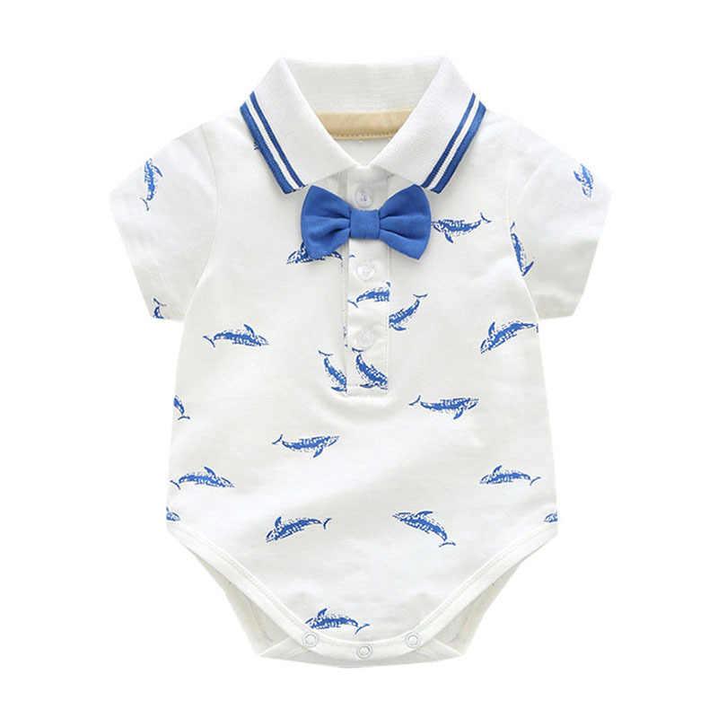 Летние комплекты одежды для маленьких джентльменов; повседневный костюм для свадебной вечеринки; комплект из 2 предметов; милая одежда с бантом для новорожденных; Bebes