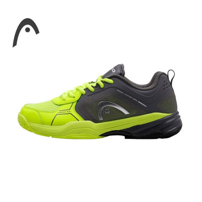 HEAD Man's Tennis Shoes Original Wearable Breathable Damping Professional Tennis Sneakers For Man Zapatillas Para Tenis head women s tennis shoes original wearable breathable damping professional tennis sneakers for women zapatillas para tenis