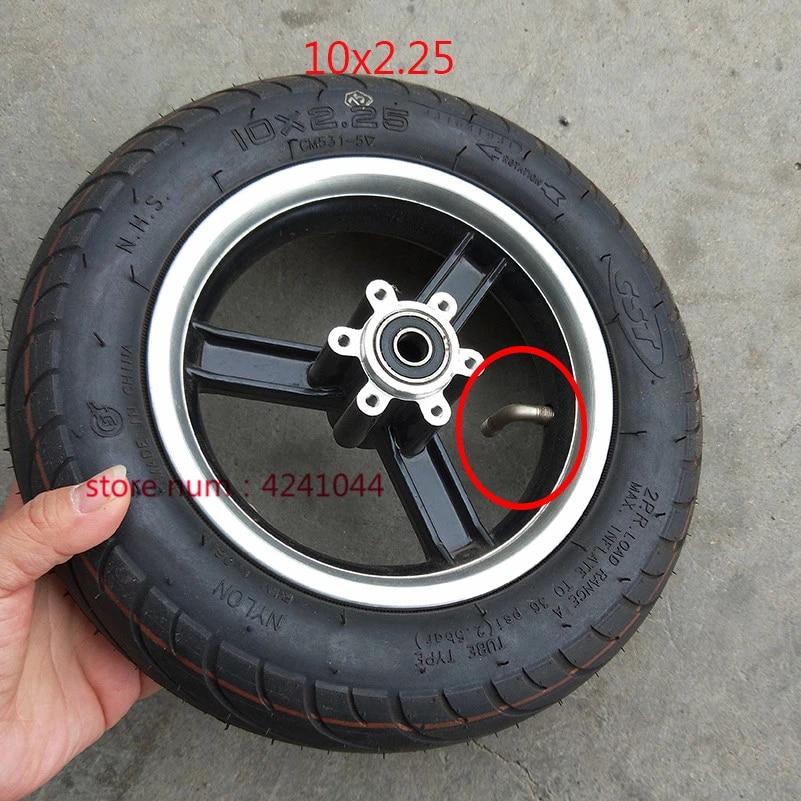 10 Inch 10x2 25 Wheel Rim Scooter Hub Aluminum Alloy Hub Frame For 10x2 25 Tire Electric Scooter Mini Bike Rims Aliexpress