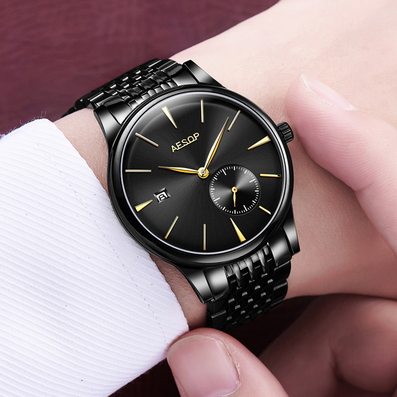 Top Luxury Brand Fashion Automatic Mechanical Watches Men watch Relogio Masculino Sport Business Wristwatch Male Clock 2018 sapphire automatic mechanical watch classic mens watches top brand luxury fashion male wristwatch high quality relogio masculino