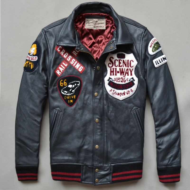 Popular Leather Flight Jacket Patches-Buy Cheap Leather Flight ...