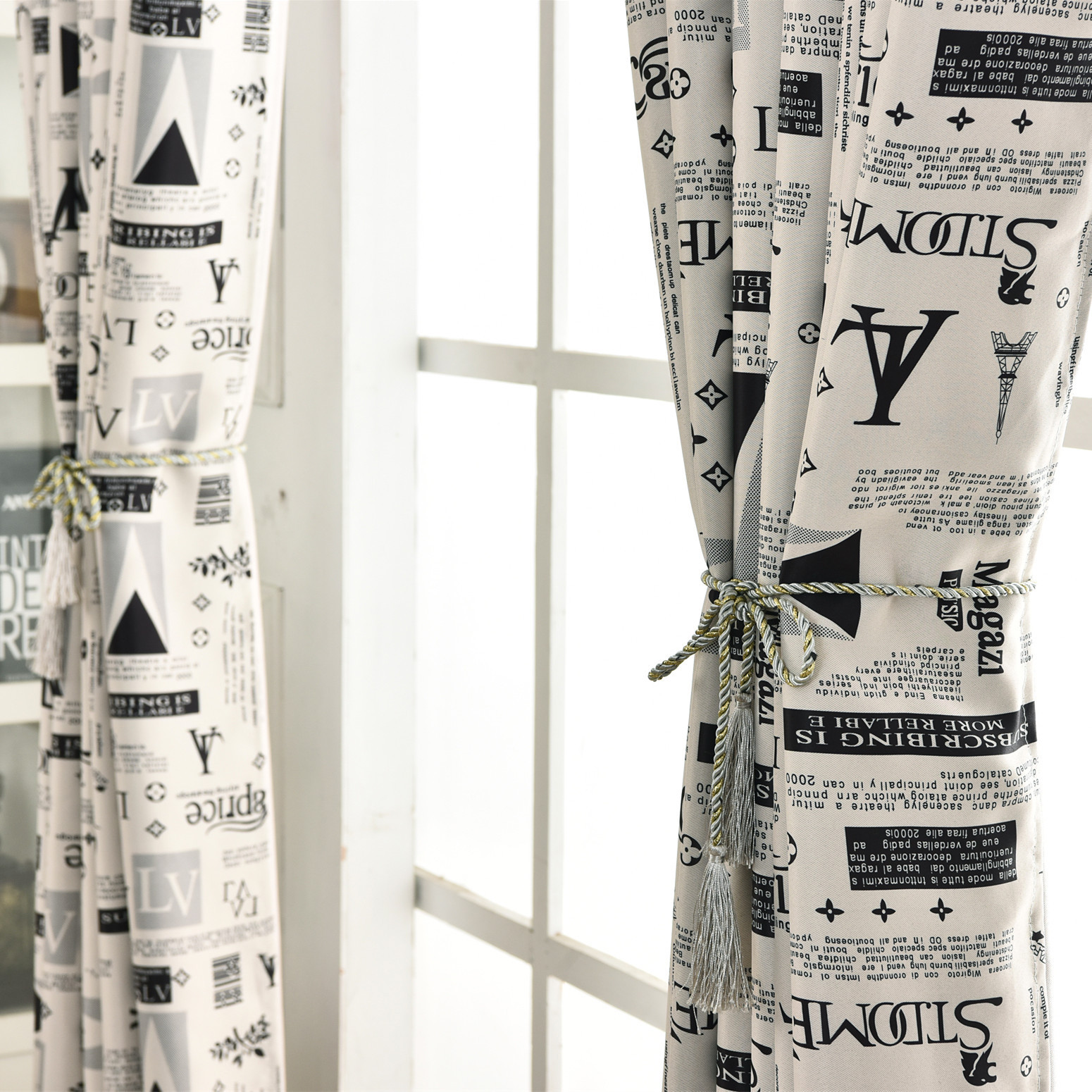 Exceptional New Curtain Fabric Burst Light Shade Printing Paris Street Curtains For  Living Dining Room Bedroom(