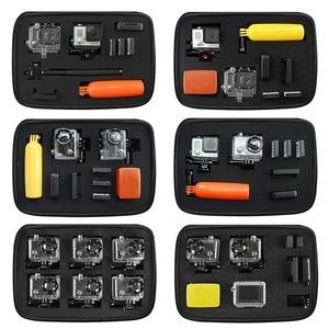 Image 2 - Storage Case Travel Bag with Customizable Interior Foam for Go Pro GoPro Hero 8 7 6 4 SONY SJCAM AKASO Yi 4K EKEN Action Camera