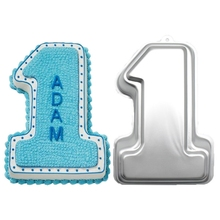 1PC Molds Cakes Alphabet Number Decorating Fondant Tools for First Anniversary Wedding Birthday Baking Cake Accessories