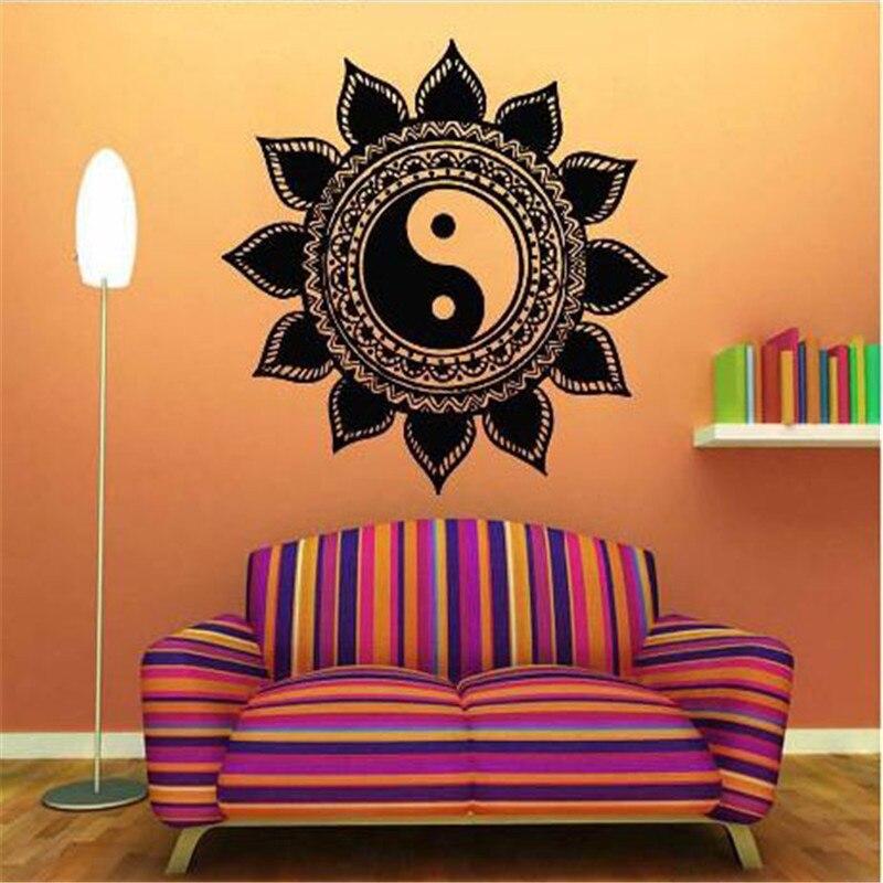 Aliexpresscom  Buy  Indian Art Mandala Wall Decal Mantra - Zen wall decals