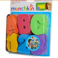 36 PCs/set   baby bath toys /Letters Numbers Can Stick On The Wall  Education Water Classic Toys