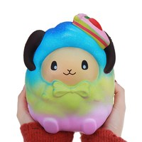 Oversized 20cm Strawberry Sheep Squishies Unicorns Kawii Slow Rising Jumbo Toy For Kids Stress Reliever Gift