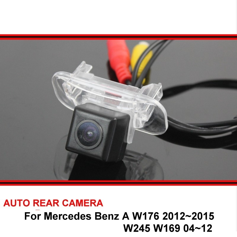 For Mercedes Benz A W245 05-11 W169 04-12 CCD Night Vision Back Up Reverse Camera Rear View Camera Car Parking Camera